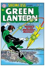 SHOWCASE 22 COVER PRINT 1st App GREEN LANTERN