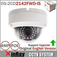 Hikvision Original English Version DS-2CD2142FWD-IS 4MP POE IP CCTV Mini Camera