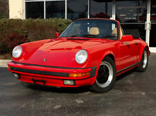 1988 Porsche 911 Carrera Convertible 2-Door