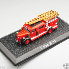 Atlas 1/72 Scale Volvo B 11 Vehicle Fire Truck Model Alloy Diecast Car Toys