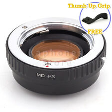 Camera Focal Reducer Speed Booster Adapter For Minolta MD Lens to Fujifilm FX
