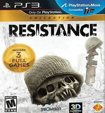 Resistance Collection Sony PlayStation 3 PS3 COMPLETE 1 + 2 + 3