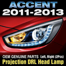 OEM Parts Projection LED DRL Head Lamp For HYUNDAI 2011-16 Accent Verna Solaris