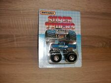 Vintage Matchbox super trucks Super Chargers Big Foot Monster sealed MOMC 1986!