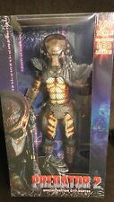 MASKED CITY HUNTER PREDATOR 2 LED 1/4 18 INCH ACTION FIGURE NECA ALIEN AVP MOVIE