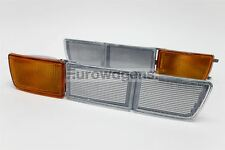 VW Golf MK3 Vento 92-98 Orange Clear Front Indicators Tow Eye Covers Set Pair