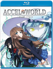 Accel World . Collection Part 2 . Episodes 13-24 . Anime . 2 Blu-ray . NEU
