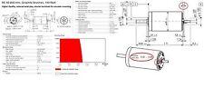 READ! 48V, MAXON MOTOR 148877 (old # 309778) RE 40, 150 Watt, Shorter Terminal