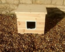 Cat litter tray house, litter box. Cat toilet, cat loo.