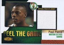 Paul Pierce 1999 Flair Feel the Game Used Jersey Celtics