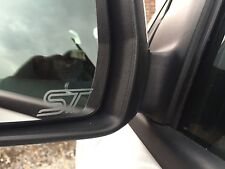 2x FORD ST STICKERS/DECALS FOCUS MONDEO FIESTA REPLICA ST Small Mirror ST3