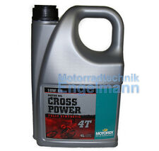 Motorex Cross Power 4 Takt 10W/60 10W-60 4 L (15 EUR/L)