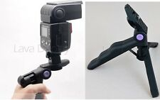 DSLR Flash Hand Held Grip Stabilizer Video nikon Speedlight Canon SB-910 SB-700