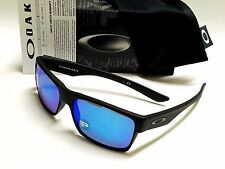 Authentic OAKLEY TwoFace OO9189-35 Matte Black/Sapphire Iridium Polarized