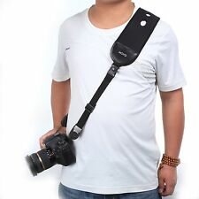 Movo Photo NS-9 Camera Neck Sling/Wrist Strap Combo System with Quick Release