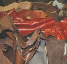 10 LB LEATHER SCRAPS / HOBBY / CRAFTS / PIECES X50 abc