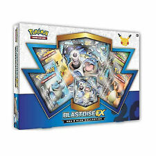 POKEMON CARDS: BLASTOISE EX RED & BLUE COLLECTION BOX: GENERATIONS BOOSTER PACKS
