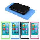 TPU Rubber Soft Case Belt Clip Skin Back Cover For iPod Nano 7 7G 7th Gen Case
