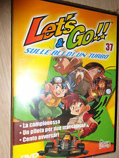 DVD N°37 LET'S & GO!! SULLE ALI DI UN TURBO 3 EPISODI HOBBY & WORK
