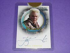 2003 Quotable Xena JOEL TOBECK #A43 Autograph SONS OF ANARCHY Lord of the Rings