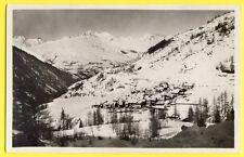 cpsm 73 - PEISEY NANCROIX (Savoie) Hameau LE MOULIN Massif du ROGNAIX Neige