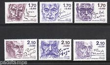 FRANCE 1985 Writers Red Cross Fund set of 6 perf 13 vf  MINT MNH SG 2663  - 2668
