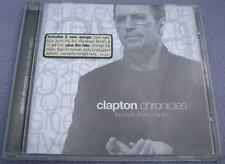 ERIC CLAPTON Chronicles 15 tracks BLUES CLASSIC ROCK Guitar Slowhand