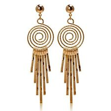New Arrival 18K Yellow Gold Filled Jewelry Womens Fashion Earrings Unique Gift