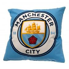 Official Licensed Football Product Manchester City Cushion Pillow Soft Gift New
