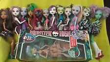 Monster High Dolls Lot of 13