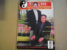 T'AI CHI MAGAZINE..ISSUE #15..ALTERNATIVE HEALTH  RARE PICTURE OF GRANDMASTER