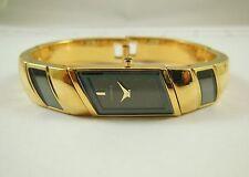 Lassale by Seiko Gold Tone Base Metal Enamel 2E20-3021 Sample Watch NON-WORKING