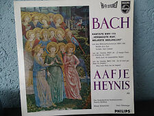 Aafje Heynis Bach Cantate Goldberg Philips HI-Fi Stereo LP NM Shipping 4$