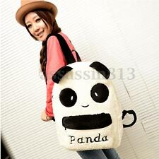 Women Girl Plush Cute Panda Shoulder Backpack School Bookbag Rucksack Travel Bag