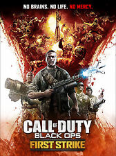 NAZI ZOMBIES CALL DUTY BLACK OPS LAMINATED MINI A4 POSTER COD FIRST STRIKE