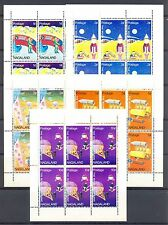 GB LOCAL  NAGALAND  5 x DIF SHEETS  SPACE   **  MNH VF  @3