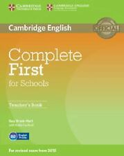 Complete: Complete First for Schools Teacher's Book by Guy Brook-Hart (2014,...