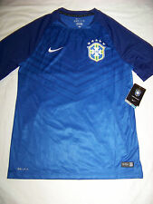 Nike DriFit Men's Brasil Brazil Training Jersey Soccer NWT Medium