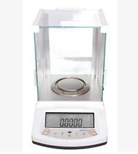 210g / 0.0001g Lab Analytical Digital Balance Scale for free shipping