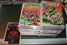 Conan volumen 1 casi completo 234 numeros de 275 Marvel original en inglés 1970
