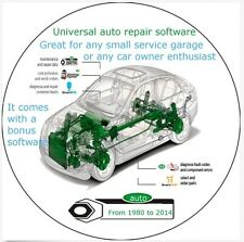 Auto Cars Maintenance and Repair Software Multilanguage Multibrand-16 gb info