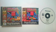 STARSWEEP PUZZLE COMPLETO SONY PLAYSTATION PS1 PSX PAL UK.RARO Y ORIGINAL