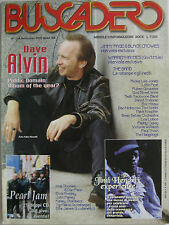 BUSCADERO 216 2000 Dave Alvin Jimmy Page Black Crowes Pearl Jam Little Feat Band