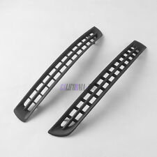 x2 Pair Left Right Front Bumper Cover Grille Grill Trim For VOLVO XC90 2007-2014