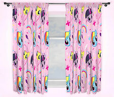 NEW MY LITTLE PONY EQUESTRIA DESIGN 72 INCH LENGTH CURTAINS GIRLS PINK BEDROOM