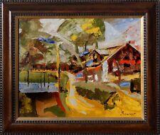 Akademischer russischer Maler Alexander Diener *1958,  Die Krim -Jalta- xxxxxxxx