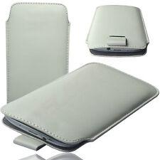 HQ Slim Cover Case Schutz Hülle Etui Tasche für TrekStor WinPhone 4.7 HD WEIß