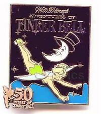 TINKER BELL FLYING By MAN IN THE MOON Peter Pan LE 50 YEARS OF #6 WDW DISNEY PIN