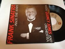 "FRANK SINATRA & QUINCY JONES SPANISH PROM0 7"" SINGLE SPAIN MAC THE KNIFE"