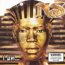 I Am: The Autobiography [PA] by Nas (CD, Aug-2001, Sony/Columbia)